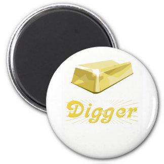 Gold Digger Fridge Magnet