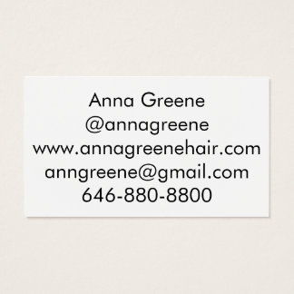 Gold Distressed Foil Business Card