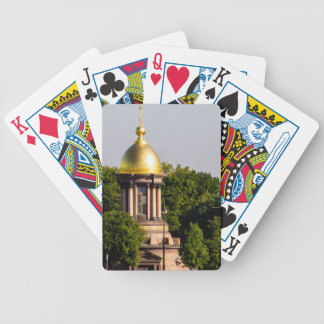 Gold Dome St Peterburg Russia Bicycle Playing Cards