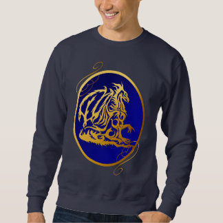 Gold Dragon 2 Oval Shirts