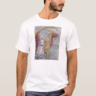 Gold Dragon by Mary Masters T-Shirt