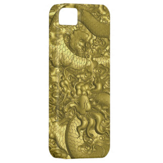 Gold dragon iPhone 5 cases