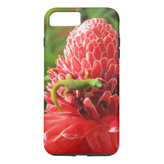 Gold Dust Day Gecko on Torch Ginger iPhone 8 Plus/7 Plus Case
