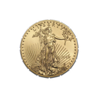 Gold Eagle coin Jelly Belly Candy Tins