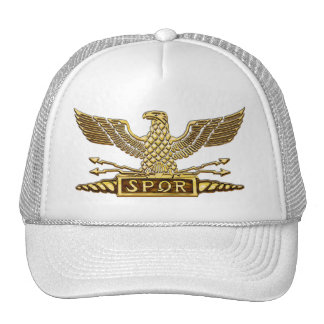Gold Eagle Roman Legion Cap