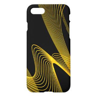 Gold Elegant - Piano Black- iPhone 7 Glossy case