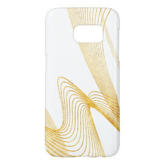 Gold Elegant -WH- Samsung Galaxy S7, Barely There