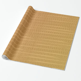 Gold Embossed Gift Wrapping Paper
