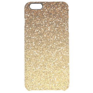 Gold Faux Glitter Ombre