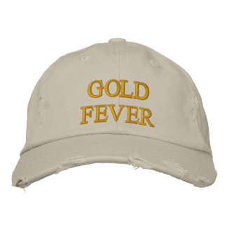 GOLD FEVER EMBROIDERED HAT