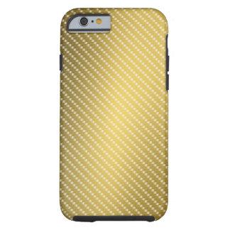Gold Fiber Base Tough iPhone 6 Case
