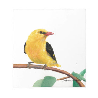 Gold Finch Notepad