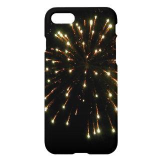Gold Fireworks Burst iPhone 7 Case