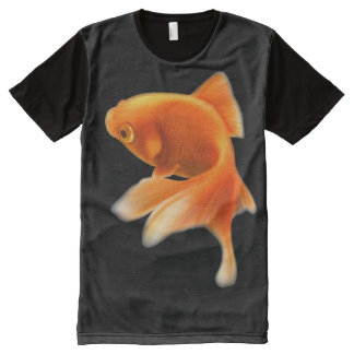 GOLD FISH All-Over PRINT T-Shirt