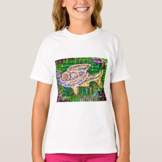 GOLD FISH aquatic animals pets T-Shirt