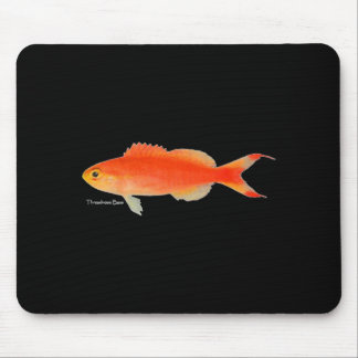 Gold Fish Design Mouse Pad