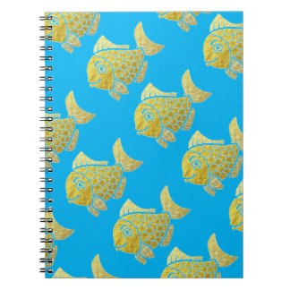 Gold Fish Life Notebook