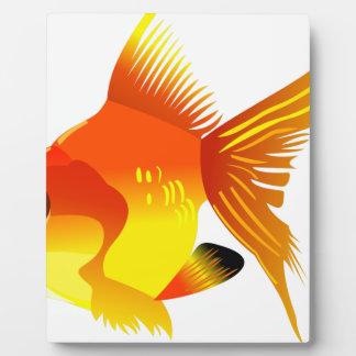 Gold Fish Plaque