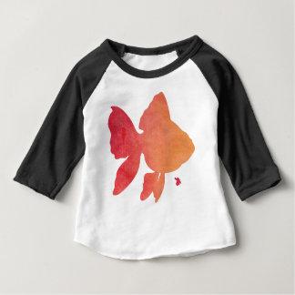 gold-fish-sunset. baby T-Shirt