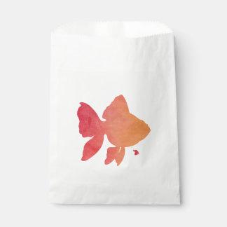 gold-fish-sunset. favour bag
