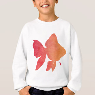 gold-fish-sunset sweatshirt