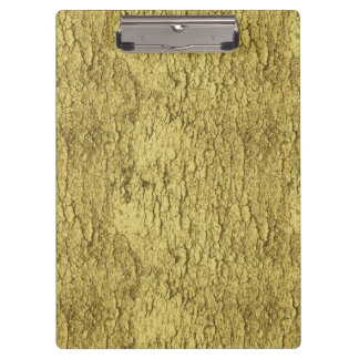 Gold Flakes Clipboard