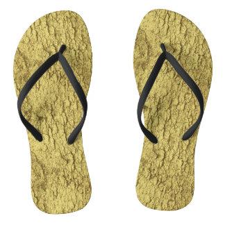 Gold Flakes Thongs