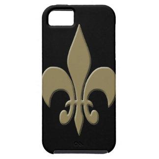 Gold Fleur de Lis 3 iPhone 5 Cases