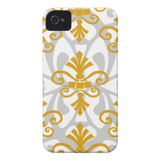Gold Fleur de Lis iPhone 4 Covers