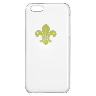 Gold Fleur De Lis iPhone 5C Case