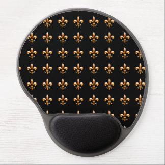 Gold Fleur de Lis- New Orleans Gel Mousepad