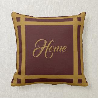 Gold Fleur-de-lis Personalised Reversible Cushion