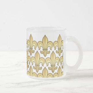 Gold Fleur de lis XXX Dat Mug
