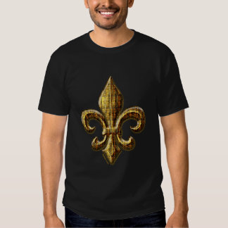 Gold Fleur Tshirts