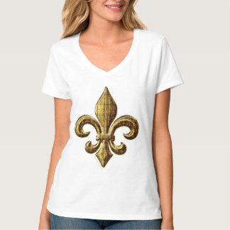 Gold Fleur Women's Tee Shirts