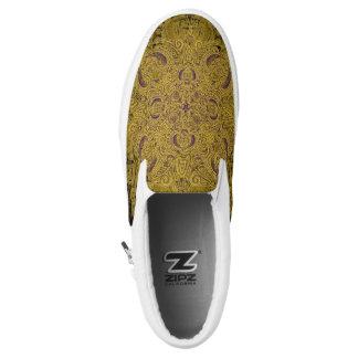 Gold Fleury Slip-On Shoes