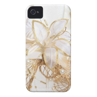 Gold Floral Iphone 4S Case iPhone 4 Cover