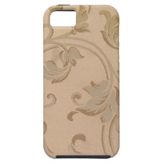 Gold Flowers Case For iPhone SE + iPhone 5/5S