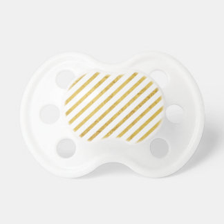 Gold Foil and White Diagonal Stripes Pattern Dummy