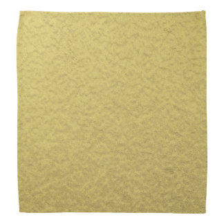Gold Foil Background Texture Bandana