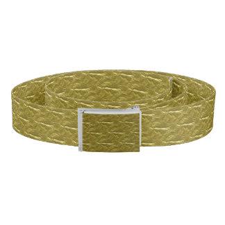Gold Foil Belt