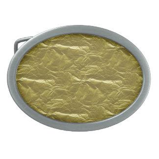 Gold Foil Belt Buckle