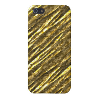 Gold Foil Bling iPhone4 iPhone 5/5S Cover