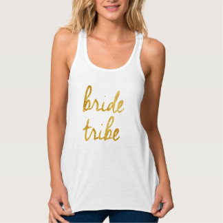 Gold Foil Bride Tribe Tank