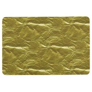 Gold Foil Floor Mat