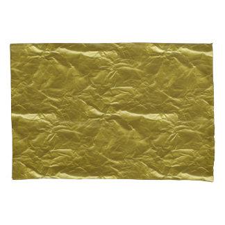 Gold Foil Pillowcase