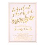 GOLD FOIL | PINK BRIDAL SHOWER INVITATION