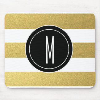 Monogram Mouse Pads