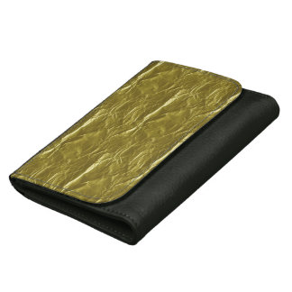Gold Foil Wallets For Women