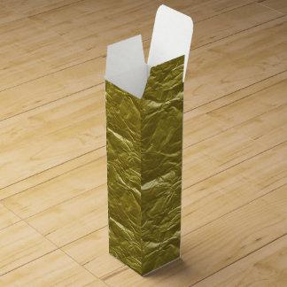 Gold Foil Wine Gift Box